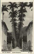 brazil, RIO DE JANEIRO, Jardim Botanico (1940s) RPPC (II)