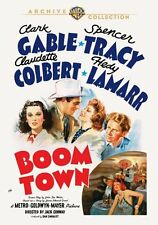 Boom Town DVD (1940) Clark Gable Spencer Tracy, Claudette Colbert, Jack Conway