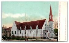 Early 1900s Santa Rosa, CA Church Built with One Redwood Tree Postcard