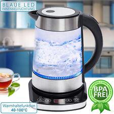 Wasserkocher mit Temperaturwahl und Warmhaltefunktion 1,7L 2200W LED SN0617L-10