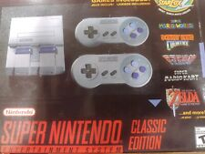 Super Nintendo Mini Console System/ Super Nes Classic Edition 21 GamesHmi