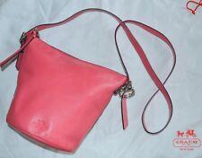 Coach Mini Bleecker Sport Duffle 32281 Loganberry Leather Cross Body Bag