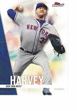 "2017 Topps Finest 5""x7"" #/49 Matt Harvey New York Mets ONLINE EXCLUSIVE JUMBO"