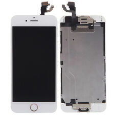 "LCD Touch Digitizer Full Assembly + Camera + Home Button for 4.7"" iPhone 6 White"