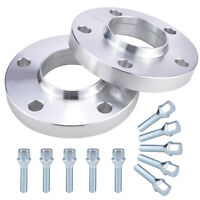 Wheel Spacers For BMW 3 Series E36 E46 E90 E91 E92 20mm Hubcentric 5x120  72.6