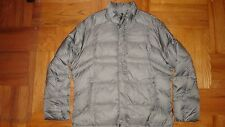 NWOTs TUMI coat jacket puffer sz XL 90% down 10% feather LITE warm.