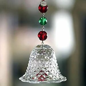NEW FACTORY SEALED BACCARAT Crystal 2013 BELL Ornament Free USA Shipping