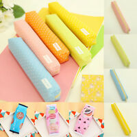 Cute Pencil Case Pen Box Stationery Bag Pouch Office Office School Supplies