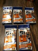Donruss - Fat Pack 30 Cards ✅ 2020-21 NBA Basketball  Lot of 5 FAT PACKS
