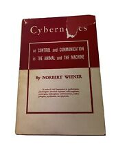Cybernetics By Norbert Wiener - Eleventh Printing 1953 - USA - Vintage Book
