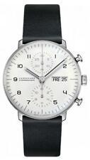 Junghans Mens L. Edition Max Bill Chronoscope Watch Set 363/2919.01 NEW