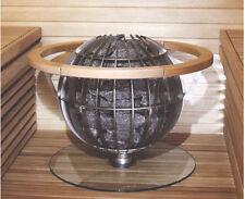 Glasplatte Saunaofen Harvia Globe Glasbodenplatte Bodenplatte Heizgerät