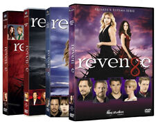 REVENGE - STAGIONI 1, 2, 3, 4 (24 DVD) COFANETTI SINGOLI SERIE TV COMPLETA