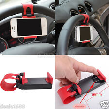 Car Steering Wheel Sticky Mount Holder Stand For Universal Mobile Cell Phone GPS