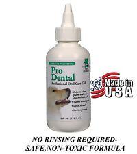 PRO PET Dental Professional Total Oral Care Formula Mint GEL TOOTHPASTE Dog Cat