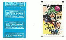 BUSTINA FIGURINE CIELO E TERRA - Ed. Imperia, 1972 - VUOTA - RARA*