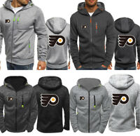Philadelphia Flyers Hoodie Hockey Sports Hooded Coat Fleece Sweatshirt Fans Gift