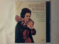 JONEL PERLEA Donizetti Lucrezia Borgia MONTSERRAT CABALLE' 3mc RARE NUOVE NEW!!!