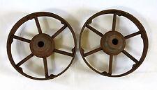 ROUE INDUSTRIELLE, 2 roues industrielles pour chariot ou autre, ATELIER, DESIGN