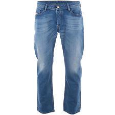 Diesel Herren-Straight-Cut-Jeans niedriger Bundhöhe (en)