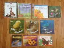 Lot of 10 LIFE CYCLES Theme Science Books NF Seeds BUTTERFLY Egg & More HB/PB