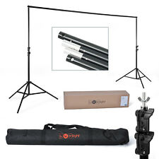 Backdrop Support - Photography / Video | Studio Background Stands & Crossbar Kit