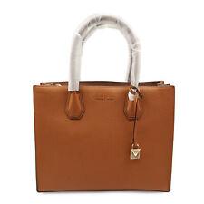 Michael Kors 30F6GM9T3L Grain Pebbled Leather Mercer Tote Acorn Womens Bag