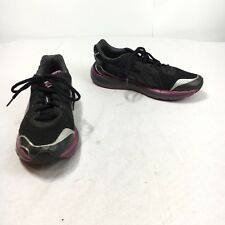 Puma Faas 550 Ortholite Women's 9 Black Purple Lace Up BioRide Running Shoes