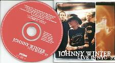 Johnny Winter ‎– Live In NYC 97 CD Album 1998