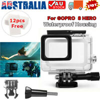 Waterproof Diving Black Camera Accessories 60m Housing Case For GoPro Hero 8