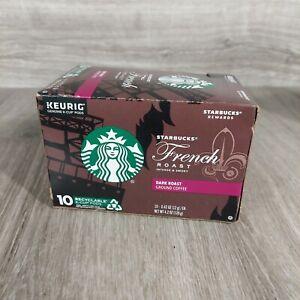 Starbucks French Roast Medium Coffee Keurig k-cups  BB 11/2020