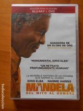 DVD + BLU-RAY MANDELA - DEL MITO AL HOMBRE - EDICION DE ALQUILER (7T)