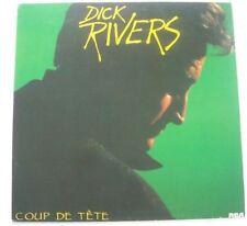 """Dick RIVERS """"Coup de tête"""" (Vinyl 33t/LP) 1985"""