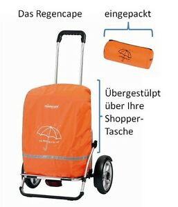 Andersen Regencape Regenmantel Regenplane Regen-Schutz Einkaufs-Trolley Shopper