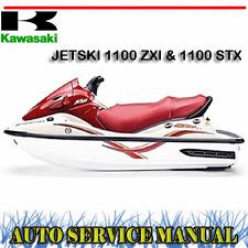 KAWASAKI JETSKI 1100 ZXI & 1100 STX WORKSHOP SERVICE REPAIR MANUAL ~ DVD