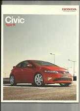 HONDA CIVIC TYPE R  AND TYPE R GT SALES BROCHURE MARCH 2007