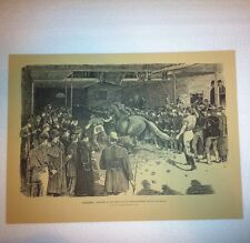 CANADIAN ILLUSTRATED NEWS PRINT TORONTO SKETCHES AT THE GREAT SALE OF HORSES.