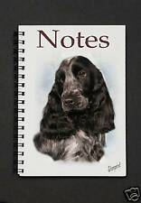 Cocker Spaniel Notebook / Notepad By Starprint - Auto combined postage
