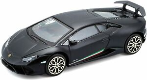 LAMBORGHINI HURACAN PERFORMANTE 1:43 Scale Model Toy Car Diecast Die Cast Black