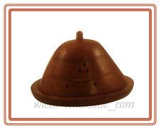 "Huge 6"" X 4"" Inchs Wooden Dome Cone Burner Holder"