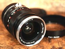 Zeiss 25mm f/2.8 Distagon T* ZF (ZE) Lens for CANON - Read Details!