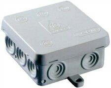 10 x Weatherproof, Waterproof Joint, Outdoor Junction Box, Adaptable Box IP54