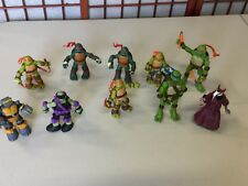 """PLAYMATES 2012 Viacom TMNT Teenage Mutant Ninja Turtle Huge Lot  6"""" Action Fig."""