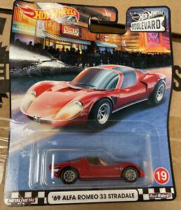 Hot Wheels Boulevard '69 Alfa Romeo 33 Stradale (Damaged Packaging)