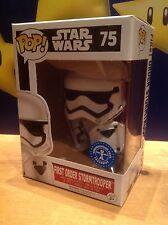 FUNKO POP! Star Wars Stormtrooper & Shield #75 UT Exclusive Vinyl Figure *New*