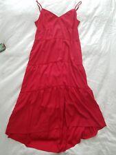 BCBG Maxazria Red Sleeveless Red Sun Dress Sz M