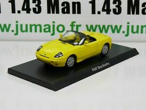 IT22G Voiture 1/43 civile Italienne MAXI CAR : FIAT Barchetta jaune