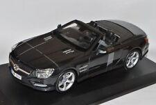 1:18 Maisto Black 2012 Mercedes-Benz SL 500 SL500 Convertible Item # 31196