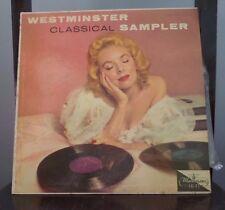 Vintage WESTMINSTER CLASSICAL SAMPLER Vinyl/Record/LP