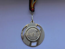 Turnen Bodenturnen Pokal Kids 10 x Medaillen 70mm Band-Emblem 50mm Turnier Pokale & Preise e103